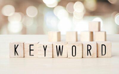 Słowa kluczowe – czym są i jak je dobierać?